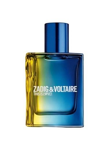 Zadig&Voltaire This Is Love Pour Lui EDT 50 ml Erkek Parfüm Renksiz